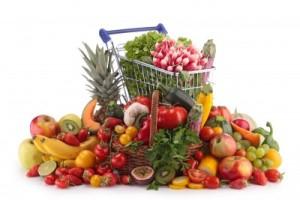 gesunder einkauf